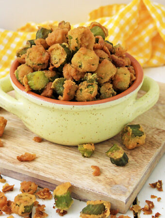best southern fried okra recipe