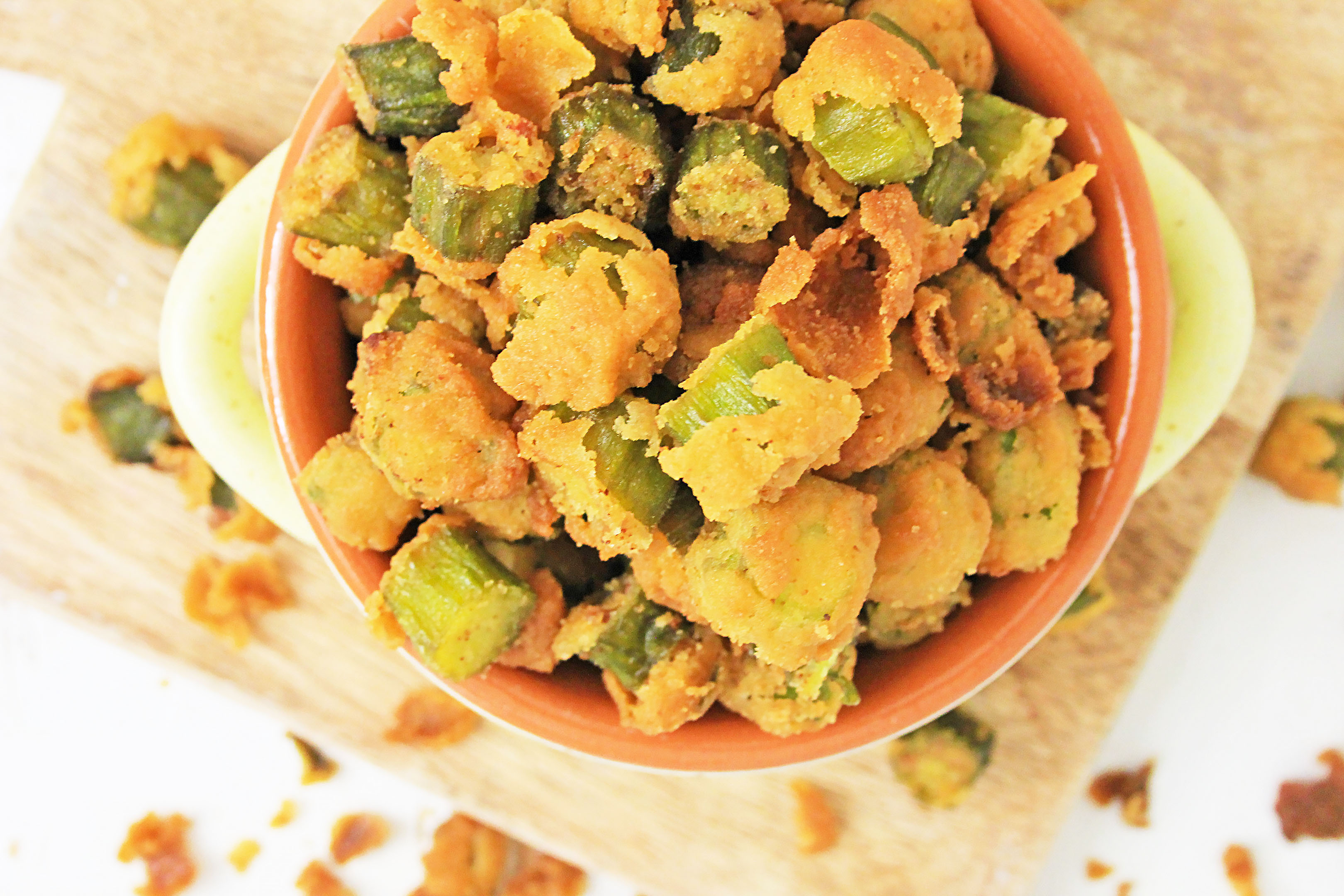 how to make Southern style fried okra