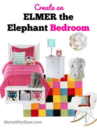 elmer the elephant bedroom
