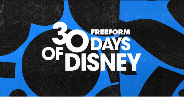 freeform disney schedule