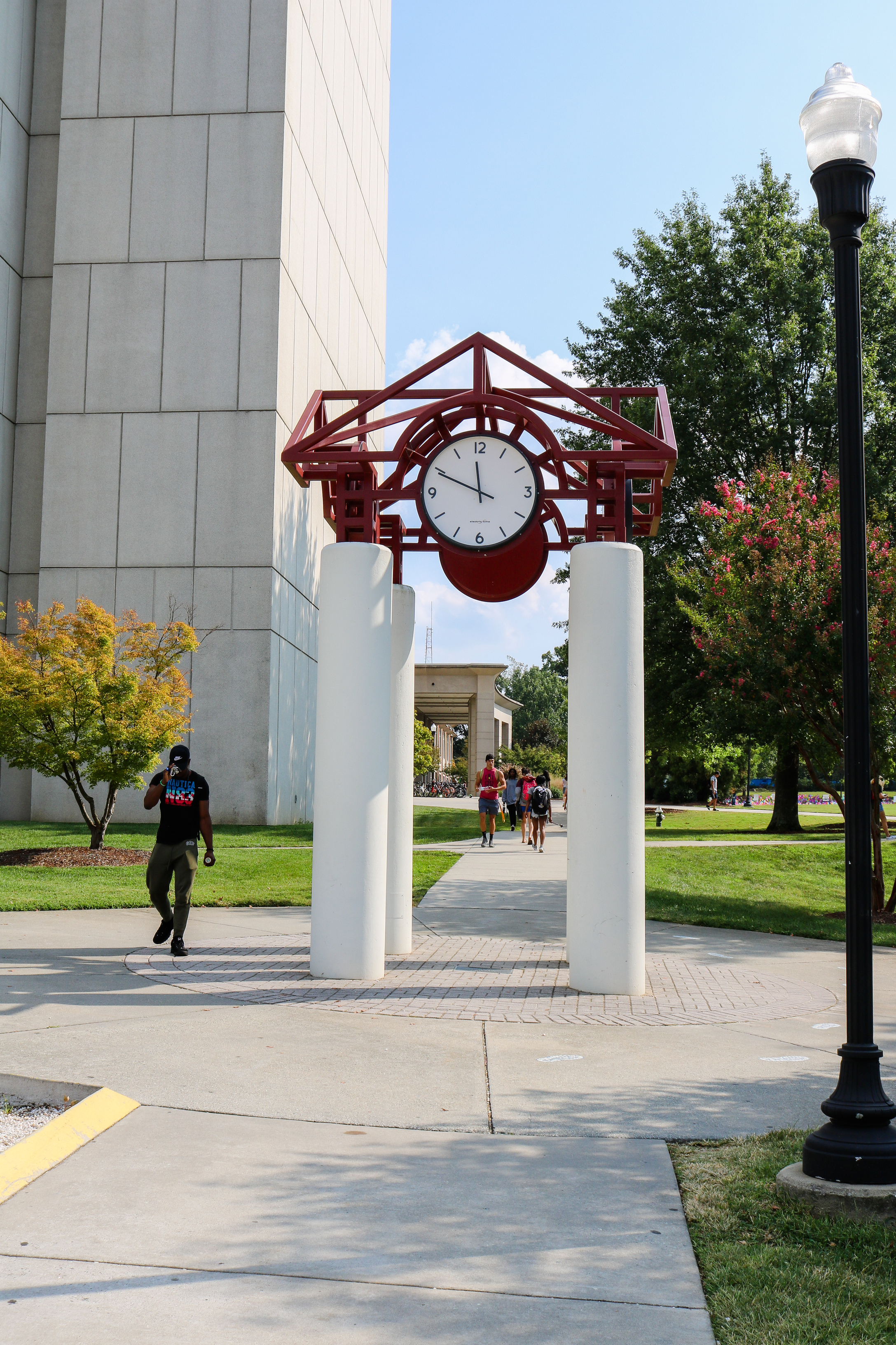 University of North Carolina at Greensboro clock