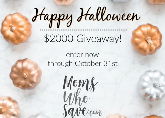 Happy Halloween Cash Giveaway — Four Winners Will Each Receive $500!