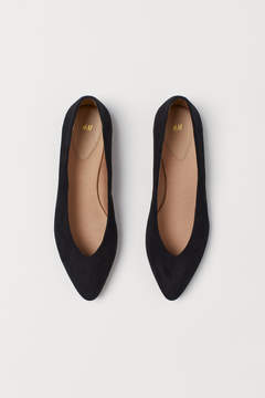 H&M Pointed Flats - Black