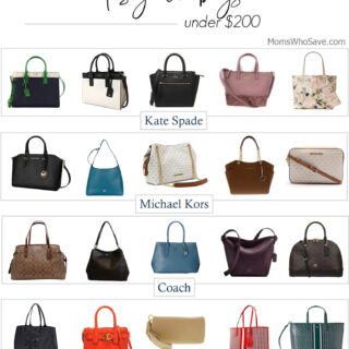 Designer Handbags — All Under $200!