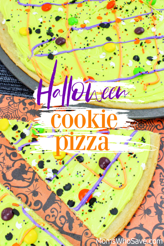 Halloween Cookie Pizza recipe