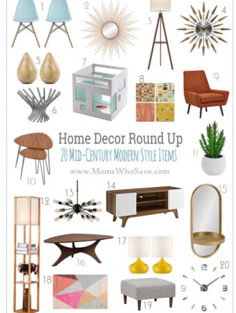 Mid-Century Modern Home Decor