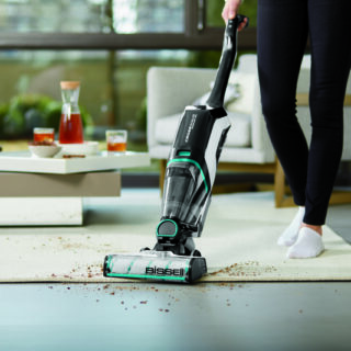 Vacuum and Wash Your Floors at the Same Time With the BISSELL CrossWave Cordless Max