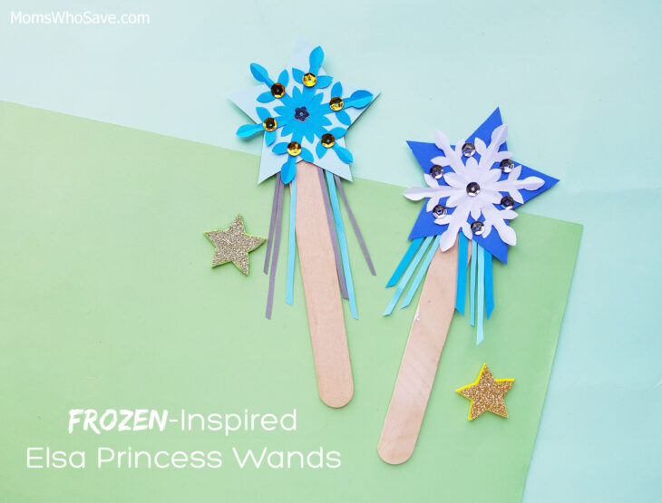 elsa's magic wand