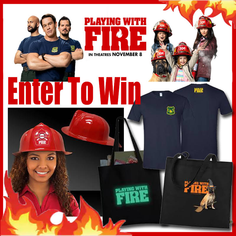 playing with fire movie prize