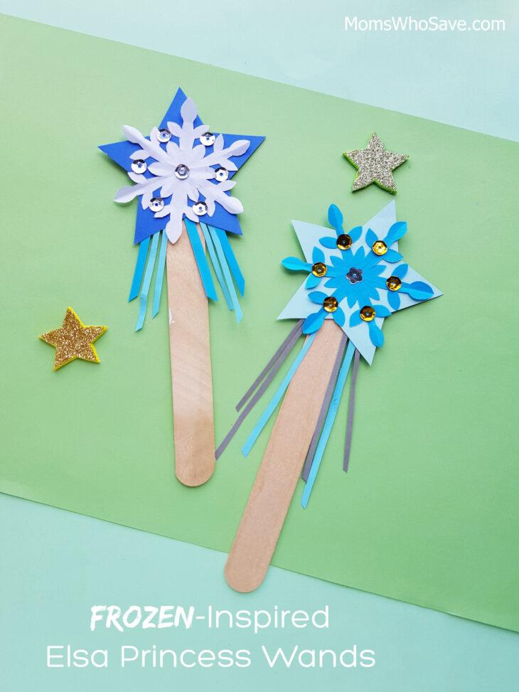 elsa frozen wand