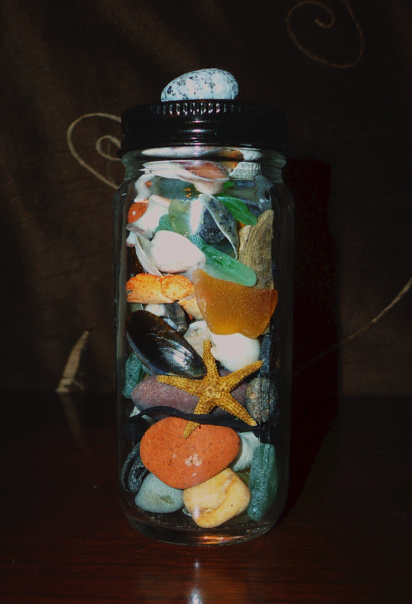 Beach Treasures Keepsake Jar