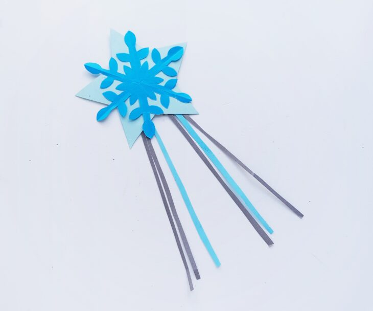 Princess magic wand craft project