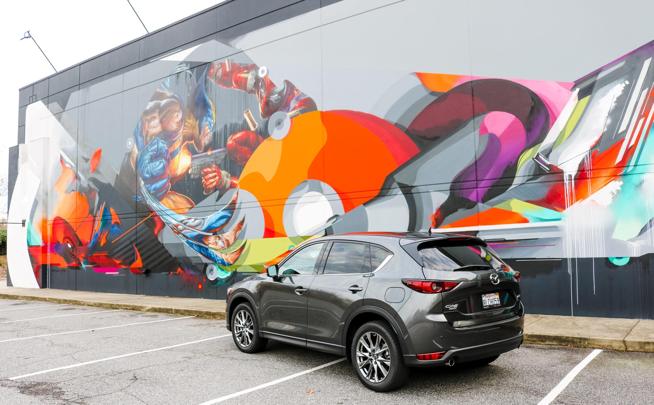 wolverine mural
