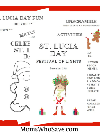 St. Lucia Day Printable