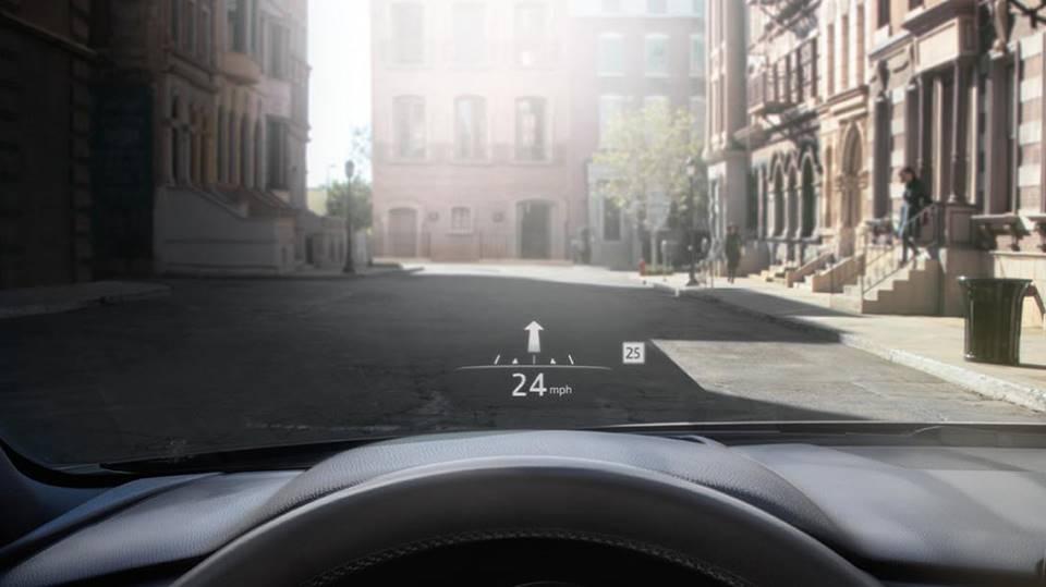 mazda cx5 active driving display