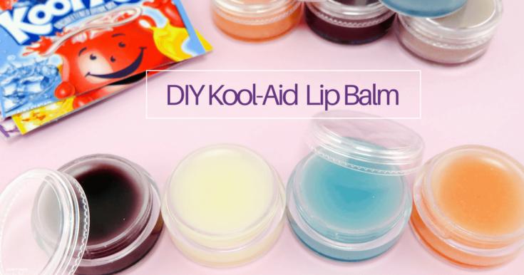DIY Kool-Aid Lip Balm