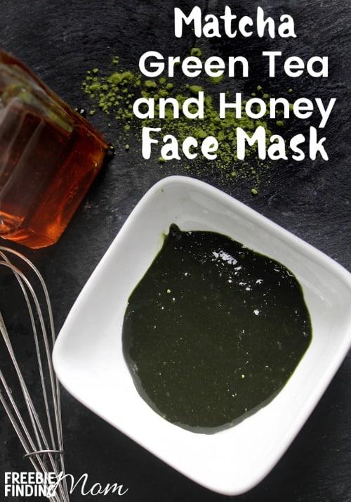 DIY Matcha Green Tea & Honey Face Mask