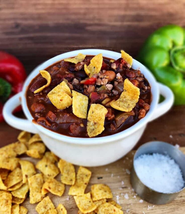 Vegan Chili with Walnuts
