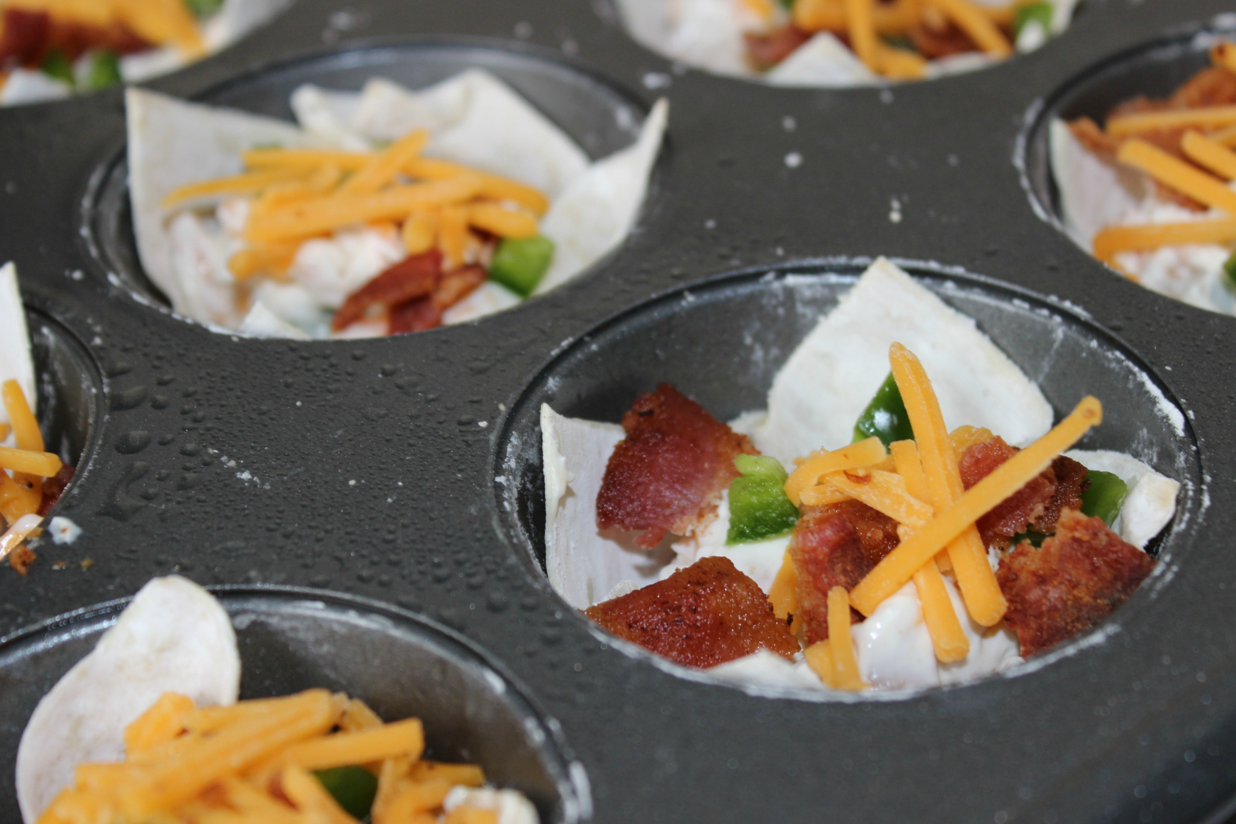 bacon jalapeno popper cup appetizers recipe