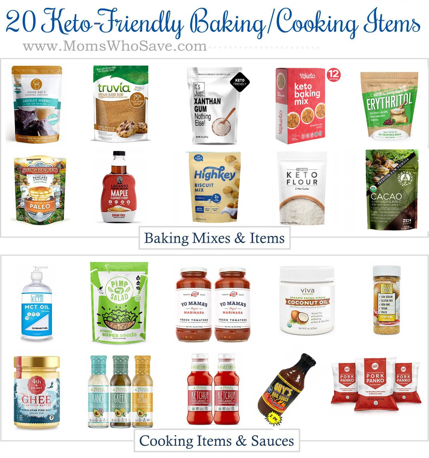 Keto Baking Ingredients