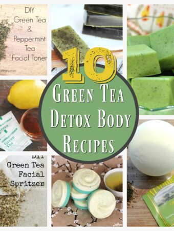 green tea beauty recipes