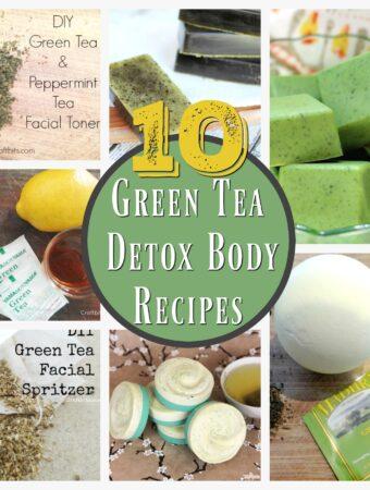 green tea beauty recipes