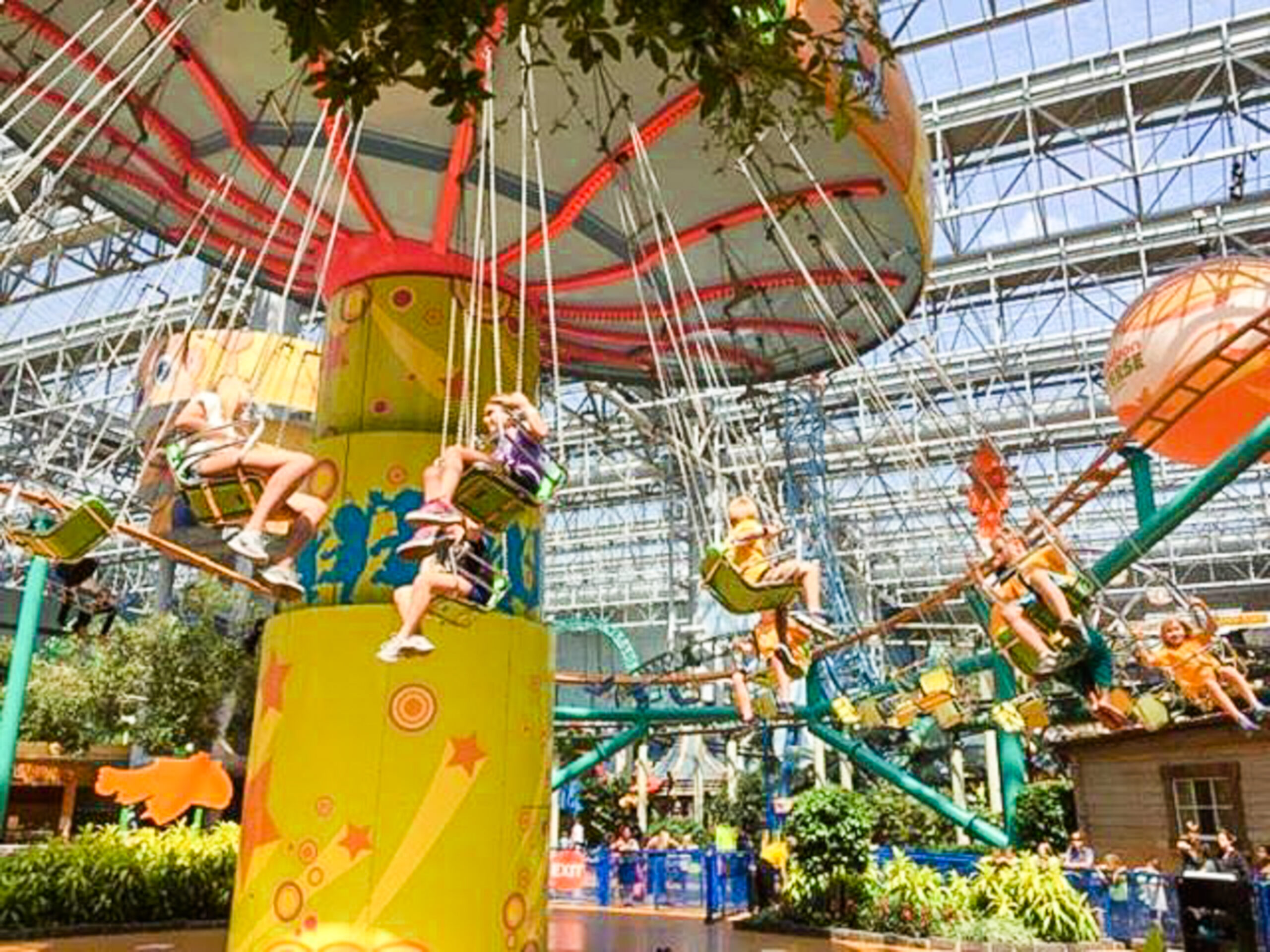 nickelodeon universe attractions