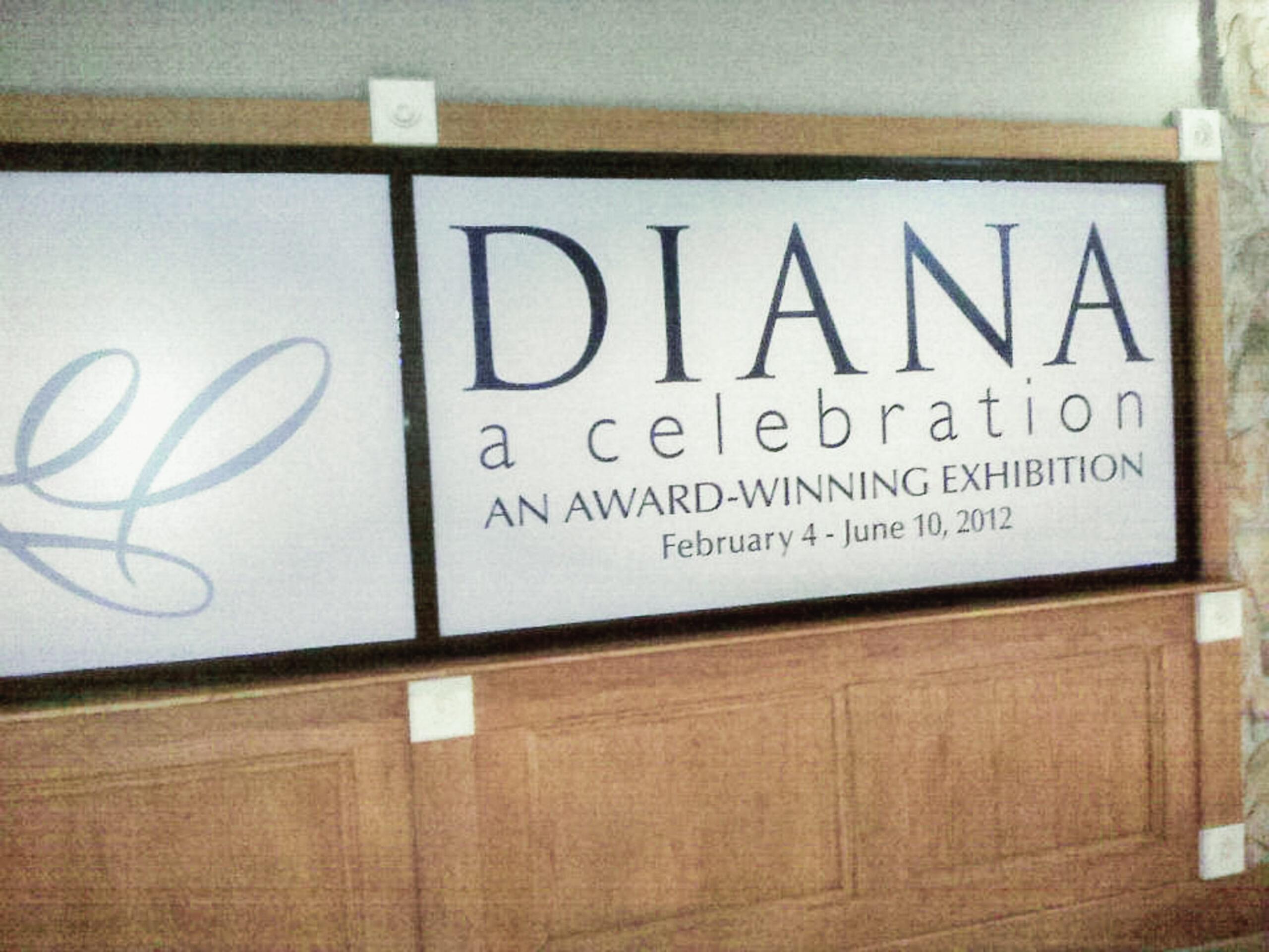 Princess Diana gowns exhibit