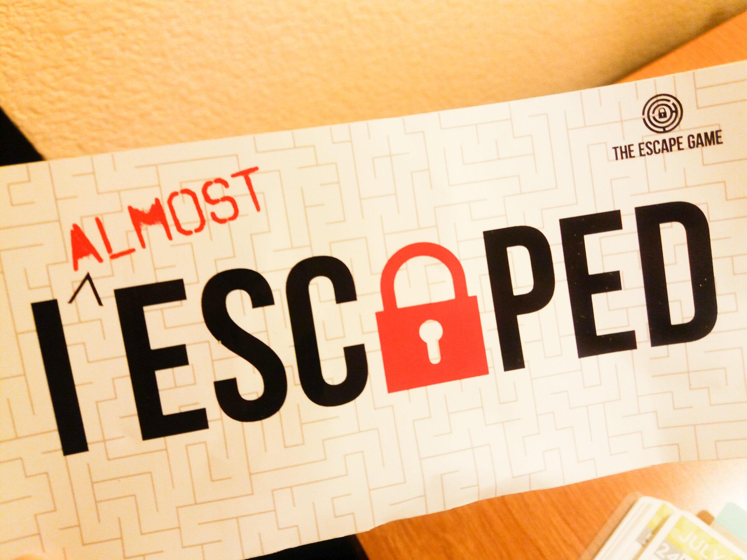 escape game at mall of america