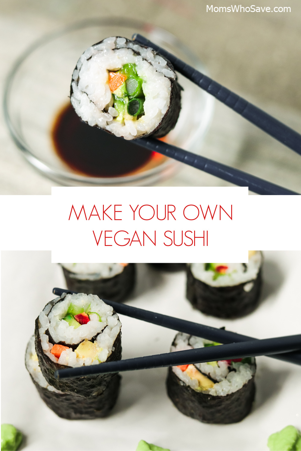 what's in vegan sushi