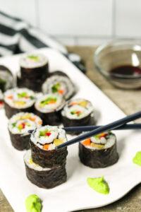 vegetarian sushi easy recipe