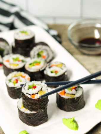 vegetarian sushi easy recipe