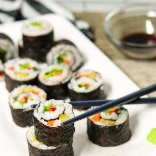 Make Your Own Vegan Sushi
