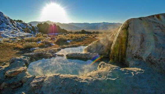 travertine hot springs california