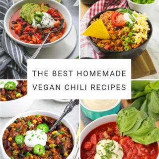 The Best Homemade Vegan Chili Recipes