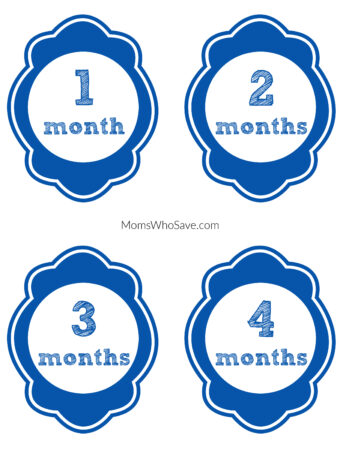 Monthly Baby Picture Signs