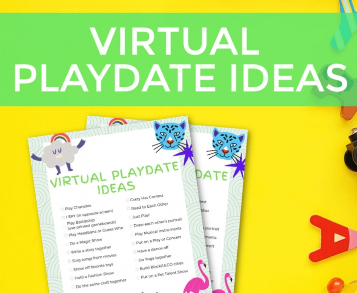 how to have a virtual playdate
