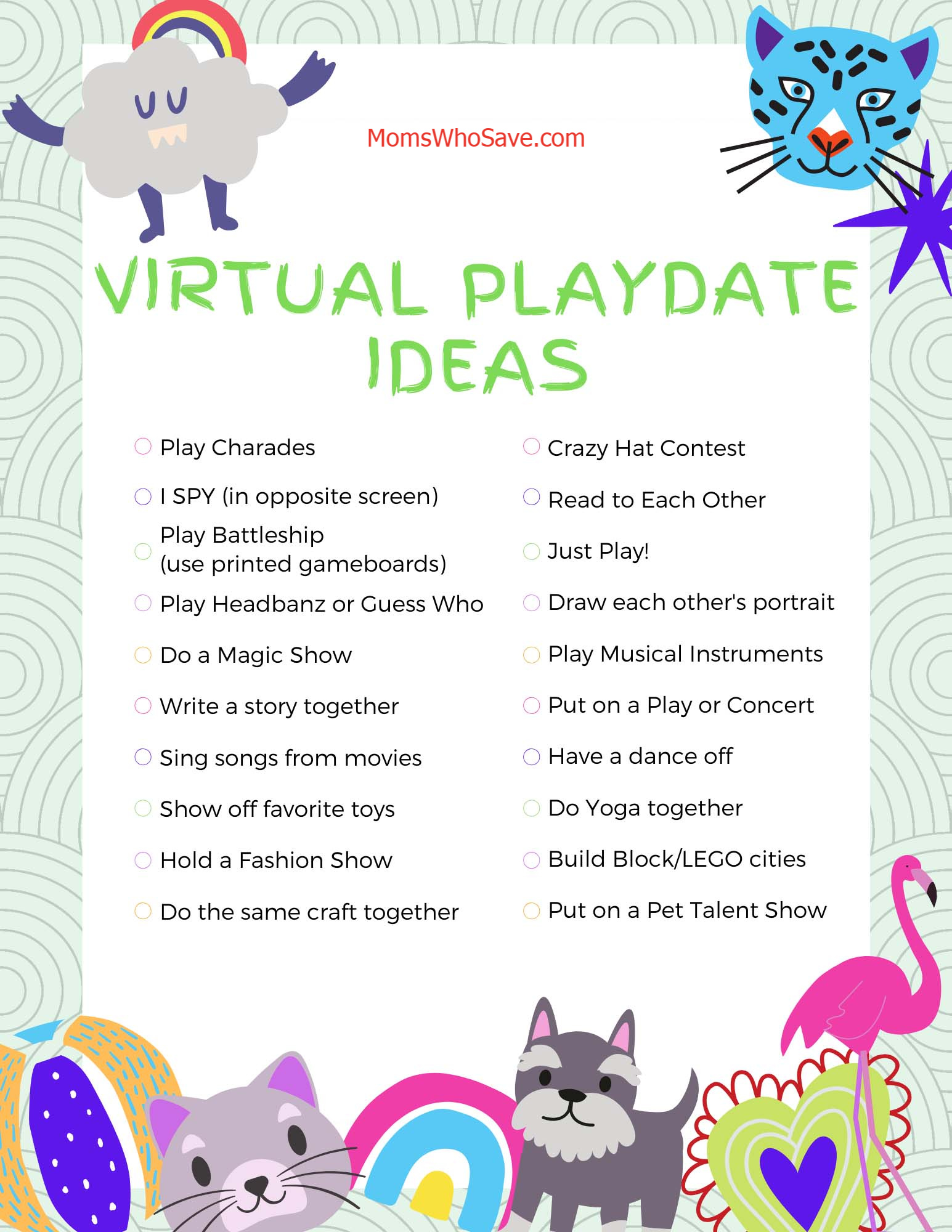 what is a virtual playdate
