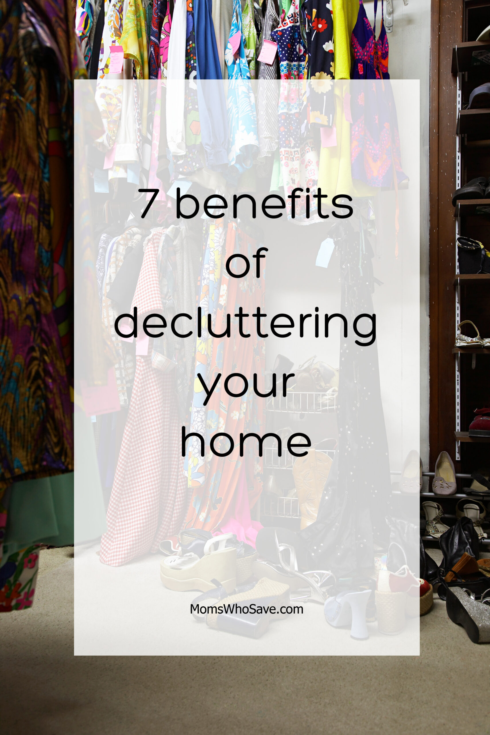 benefits of decluttering your home