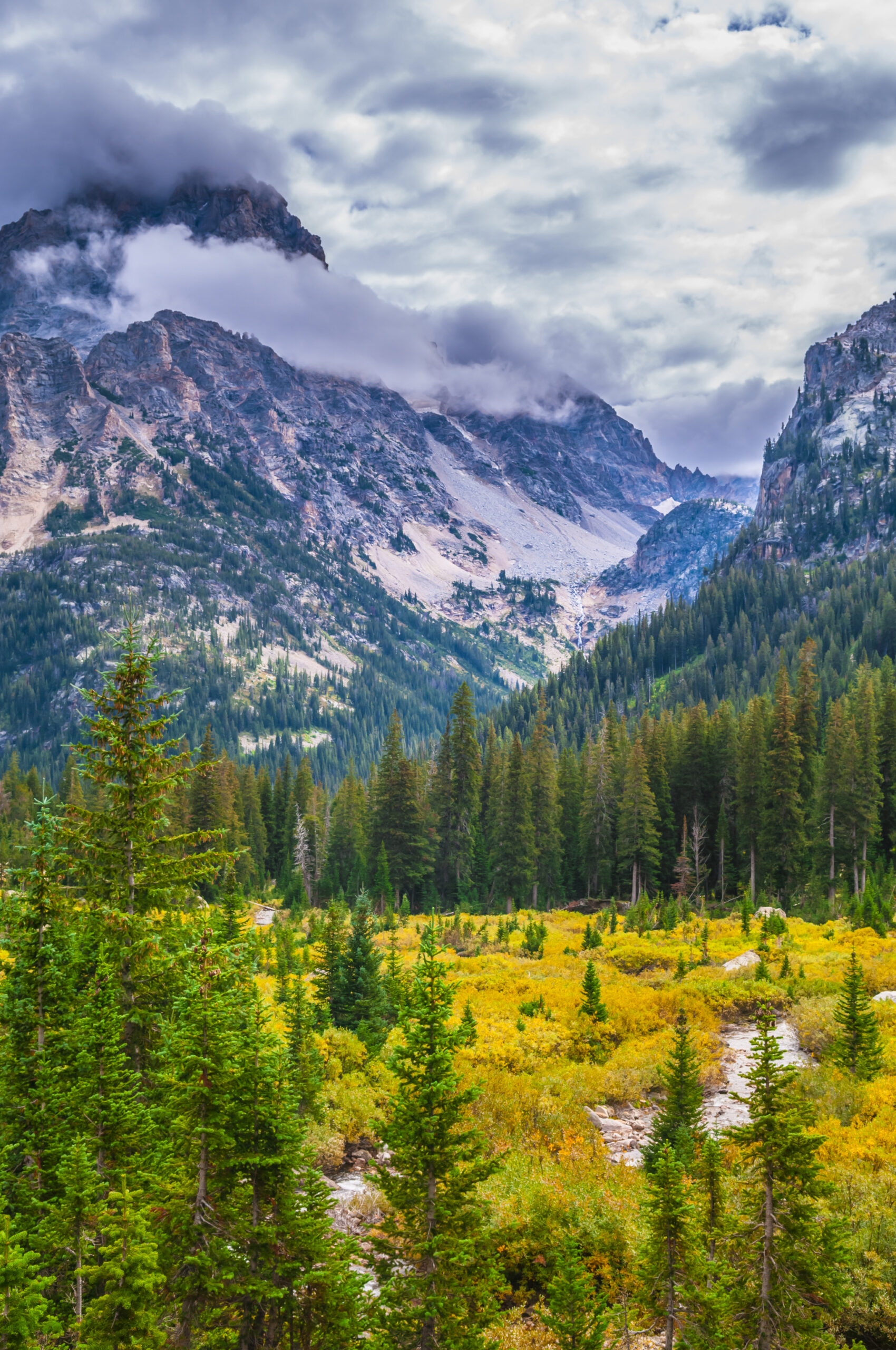 Grand Teton National Park hiking trail