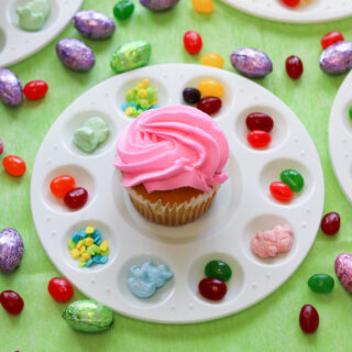 Easy Easter Cupcake Decorating for Kids