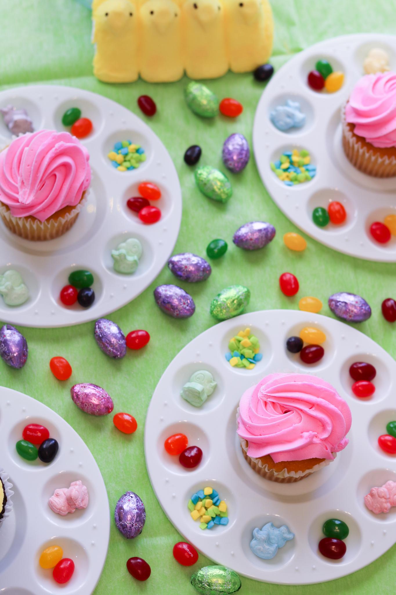 kids easter cupcakes