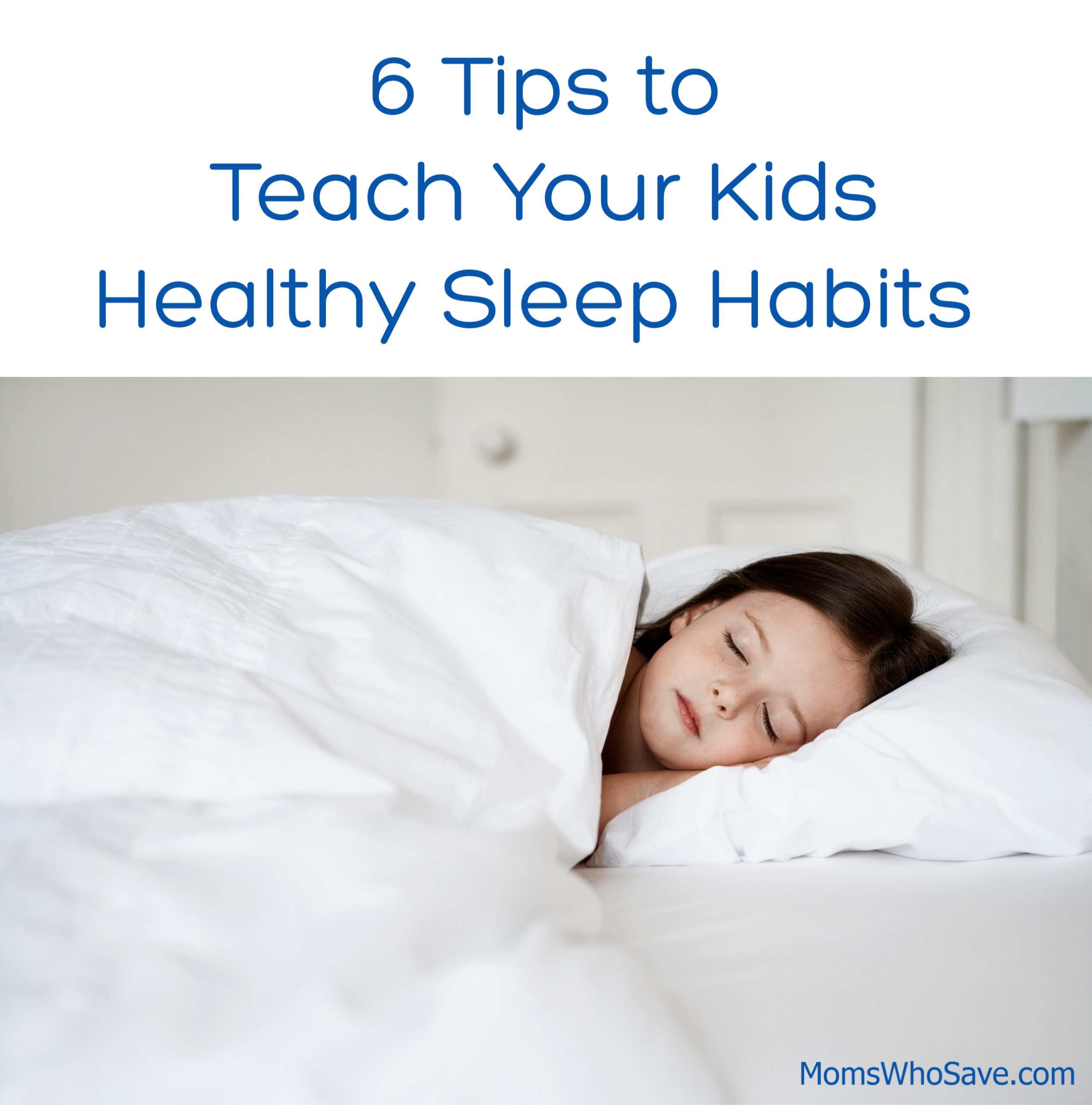healthy sleep habits for children