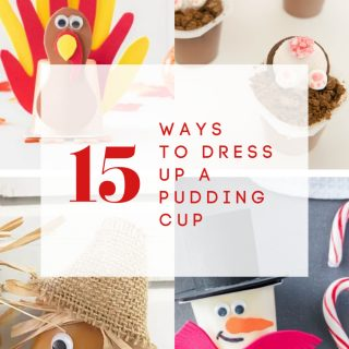 15 Ways to Dress Up a Pudding Cup