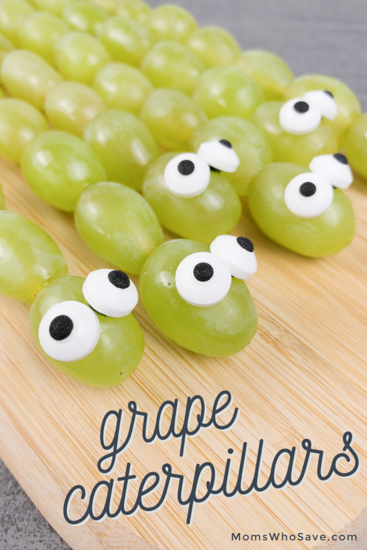 grape caterpillar kabobs