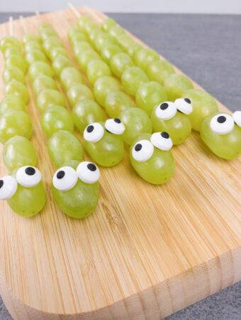 Caterpillar fruit kabobs