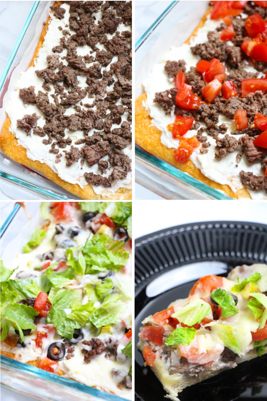 recipe for taco pizza