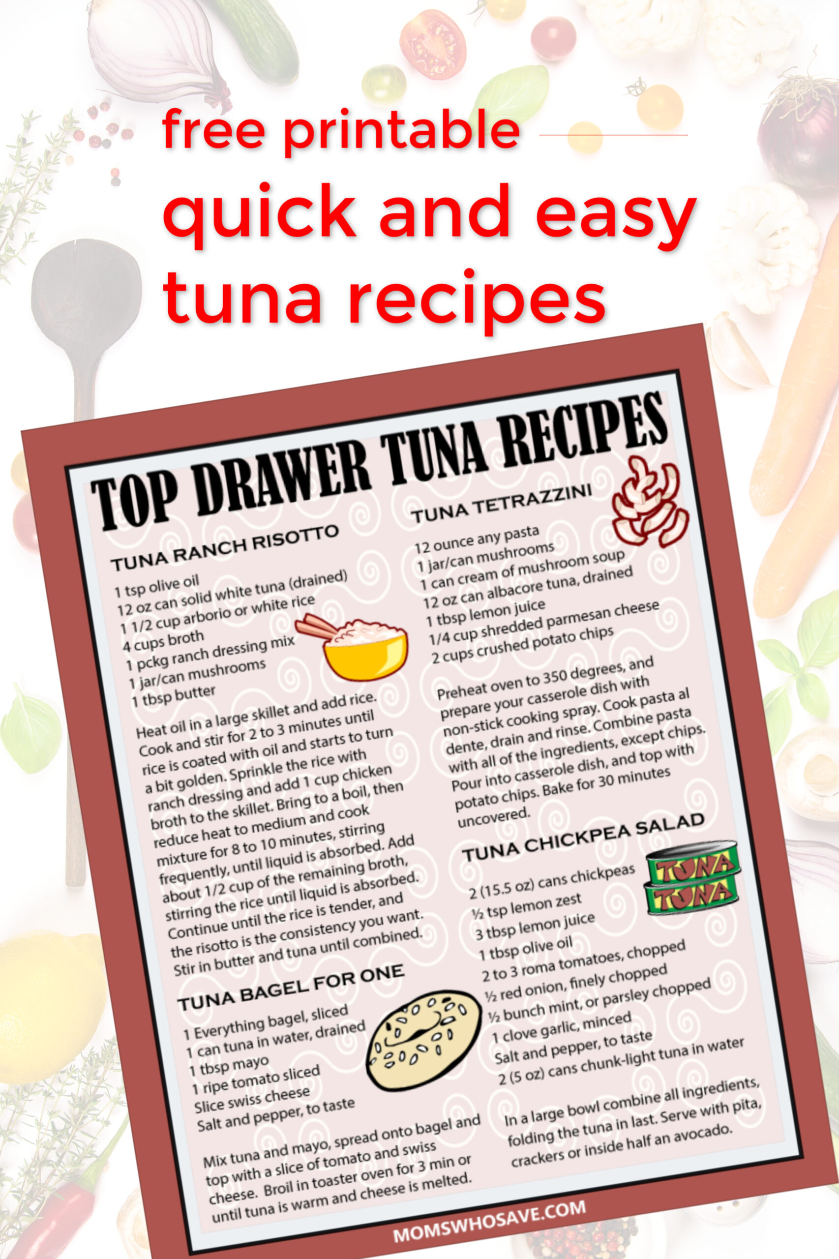 easy tuna meals