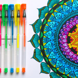 30 Stress-Relief Adult Coloring Books — The Perfect Way to Unwind and Lower Anxiety
