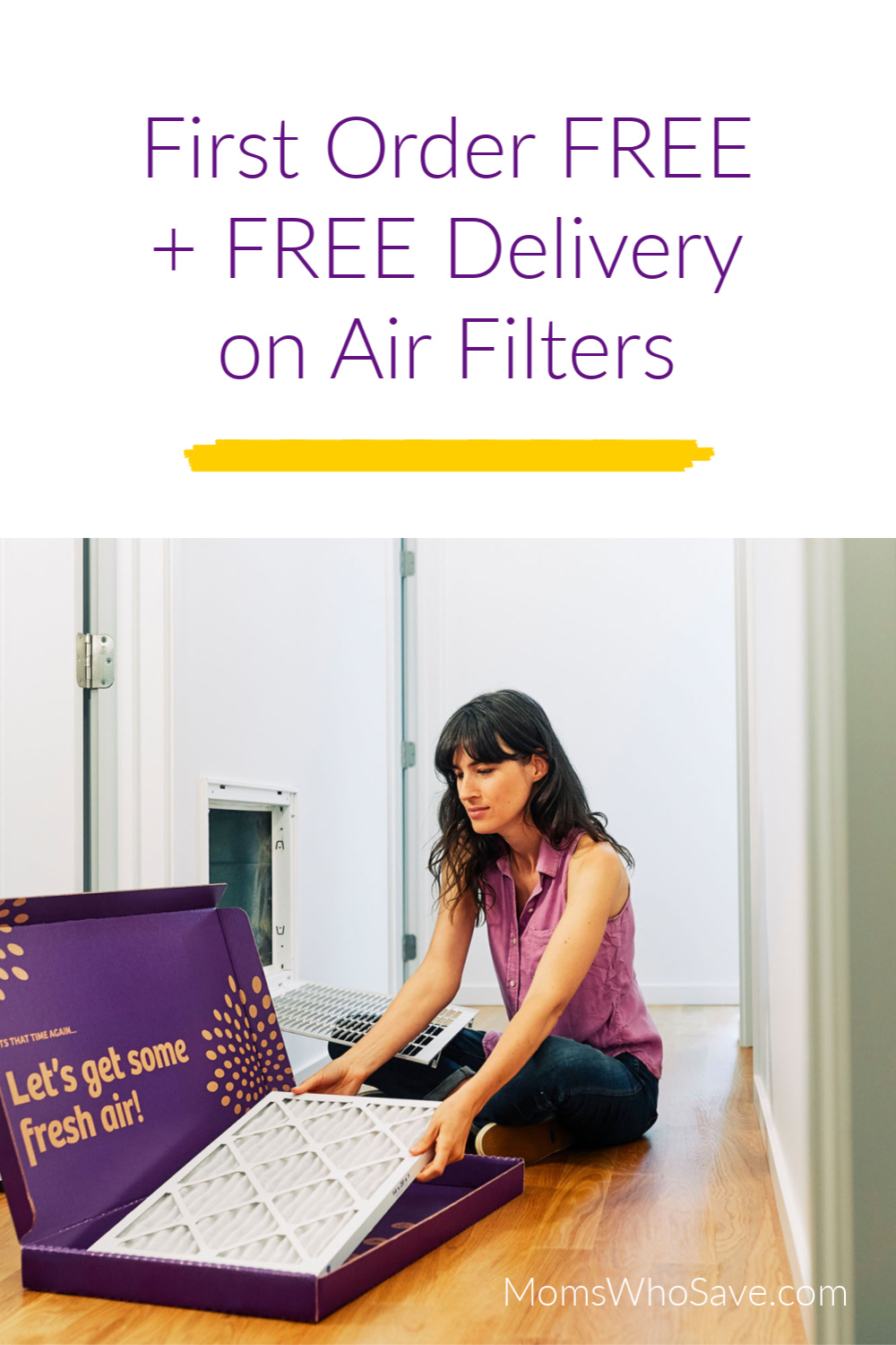 free home delivery air filters